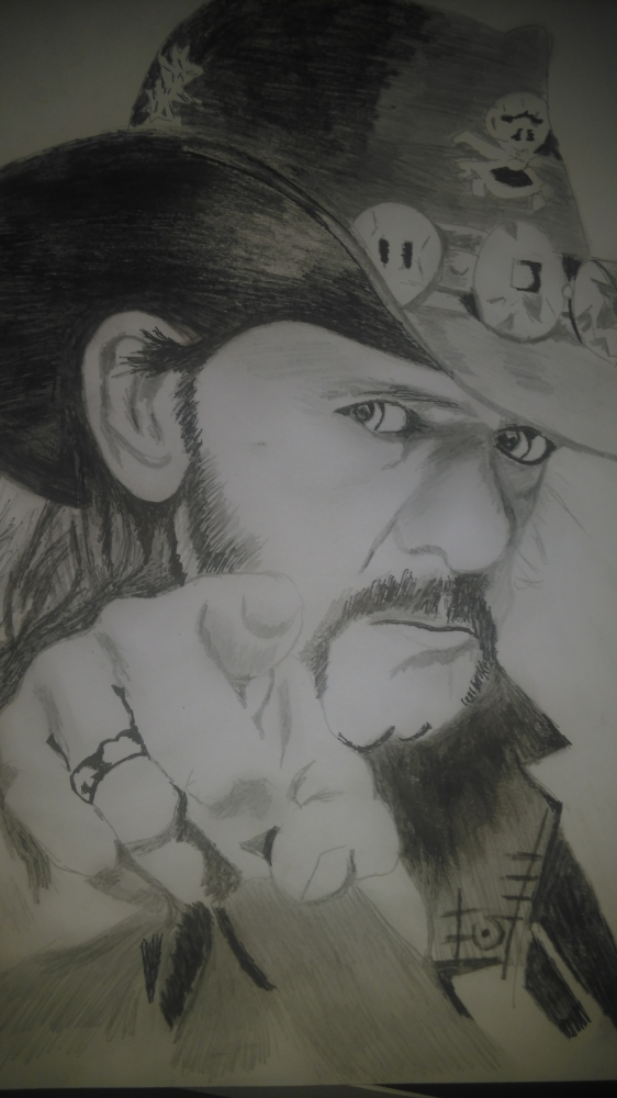 Lemmy Kilmister by marriotti96